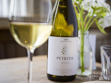 Kyperounda Winery Petritis White Wine from Cyprus