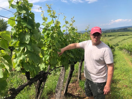 Meet Laszlo Szilagyi, winemaker at Gizella Winery