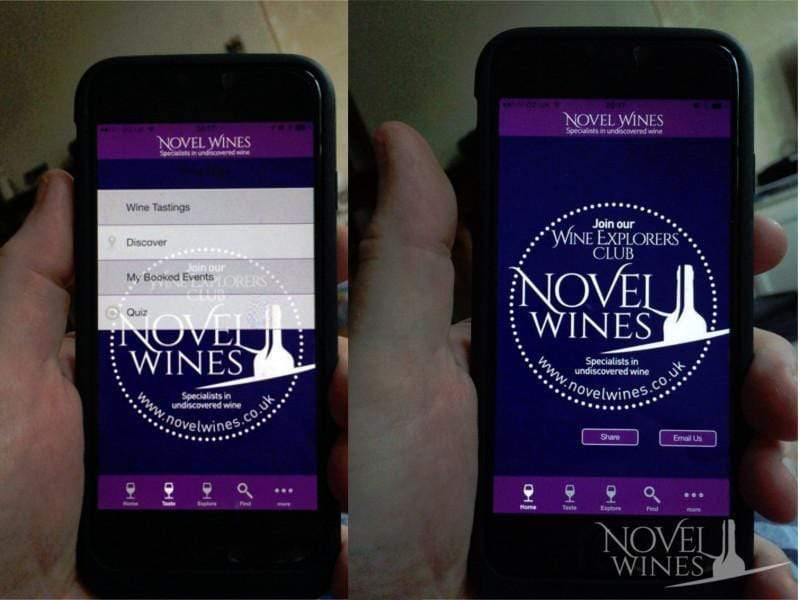 Novel Wines begins development of app that will tailor mixed cases to customers