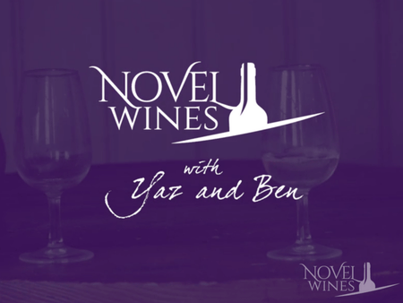 Novel Wines with Yaz & Ben: Less than 2 weeks to go!
