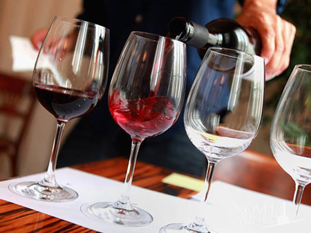 Novel Wines on the Principles of tasting wine