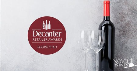 Novel Wines Shortlisted in Decanter Retailer Awards