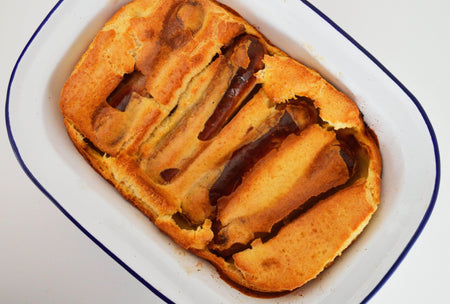 Venison toad-in-the-hole