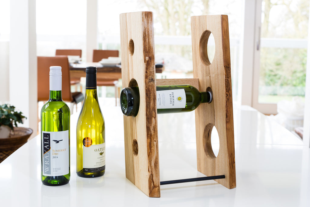 Ash Table-top Wine Rack, RRP £125