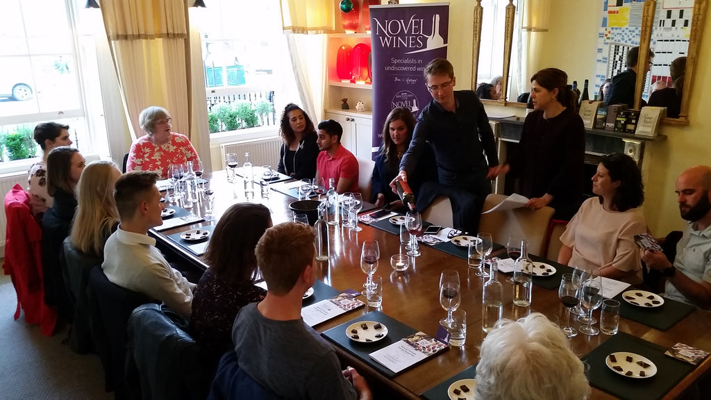 Chocolate and wine pairing masterclass