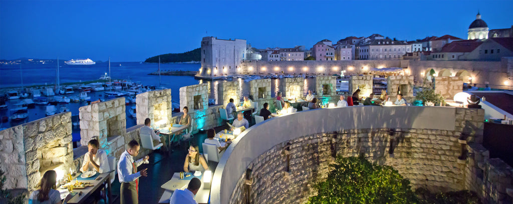 360 Michelin Star Restaurant in Dubrovnik, Croatia
