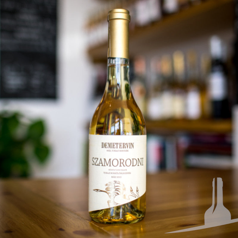 Demetervin Sweet Szamorodni Tokaj dessert wine chosen for Christmas