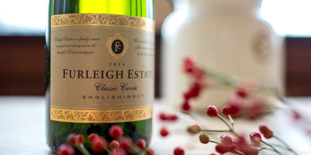 Furleigh Estate Classic Cuvee English sparkling wine from England