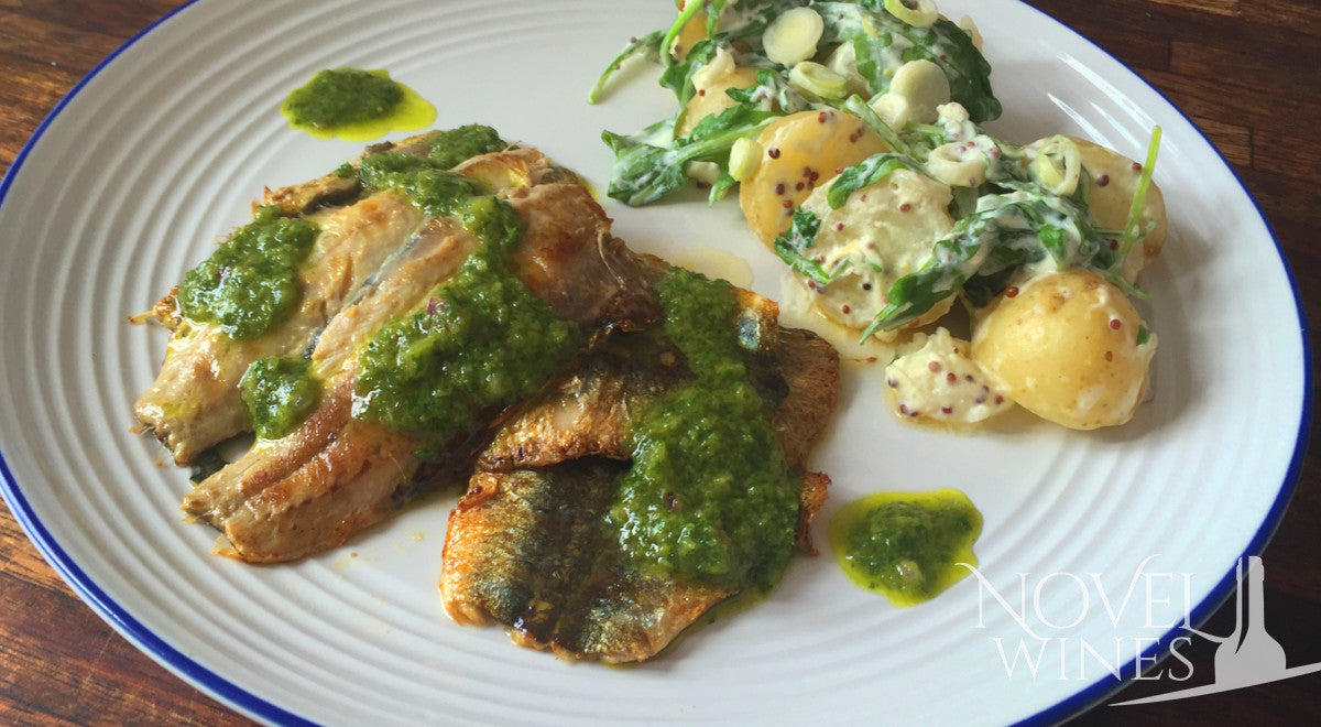 Grilled Sardines and Salsa Verde recipe
