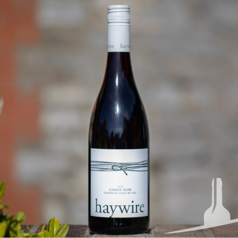 Haywire White Label Gamay red wine