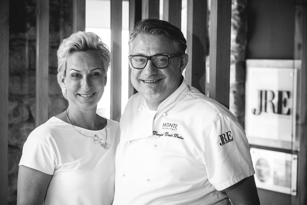 Owners of the Monte Restaurant in Croatia