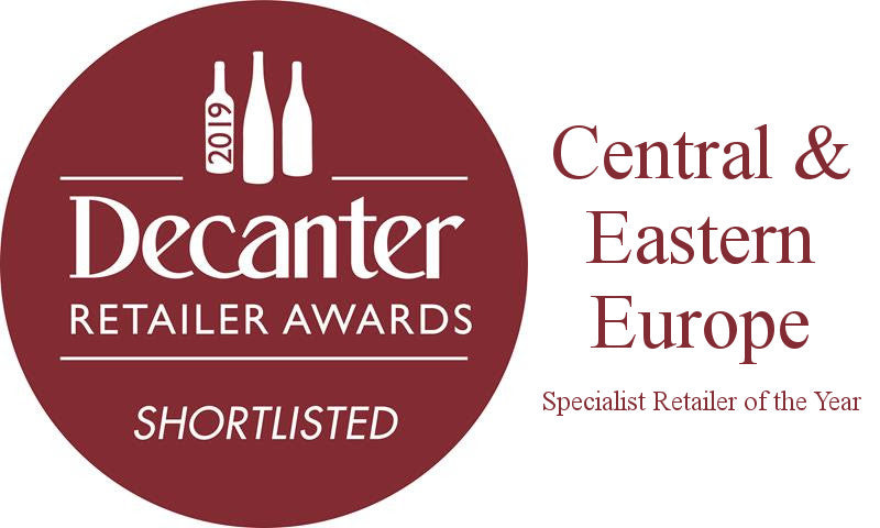 Novel Wines shortlisted in the Decanter Retailer Awards for Specialist Retailer of the Year for central and eastern European wines