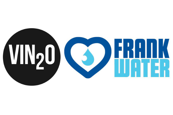 Vin2o supporting clean water projects with FRANK