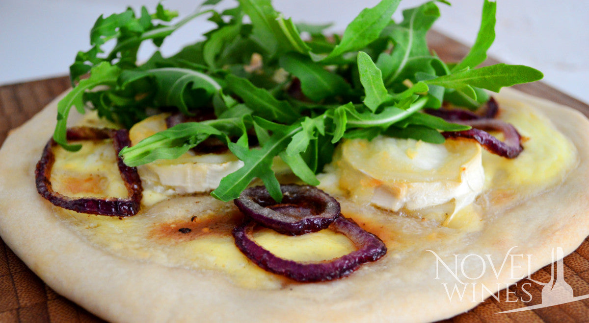 White Goat's Cheese pizza recipe by Sal Godfrey