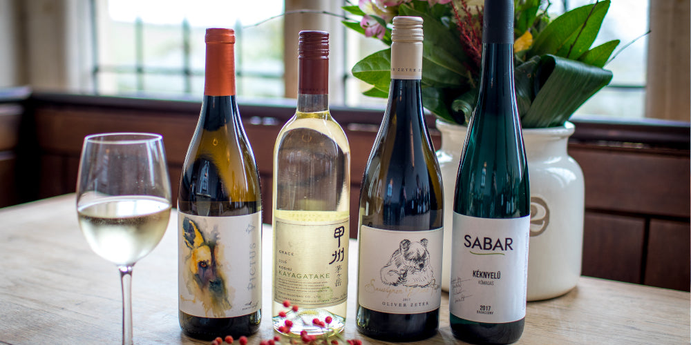 White wines by Novel Wines