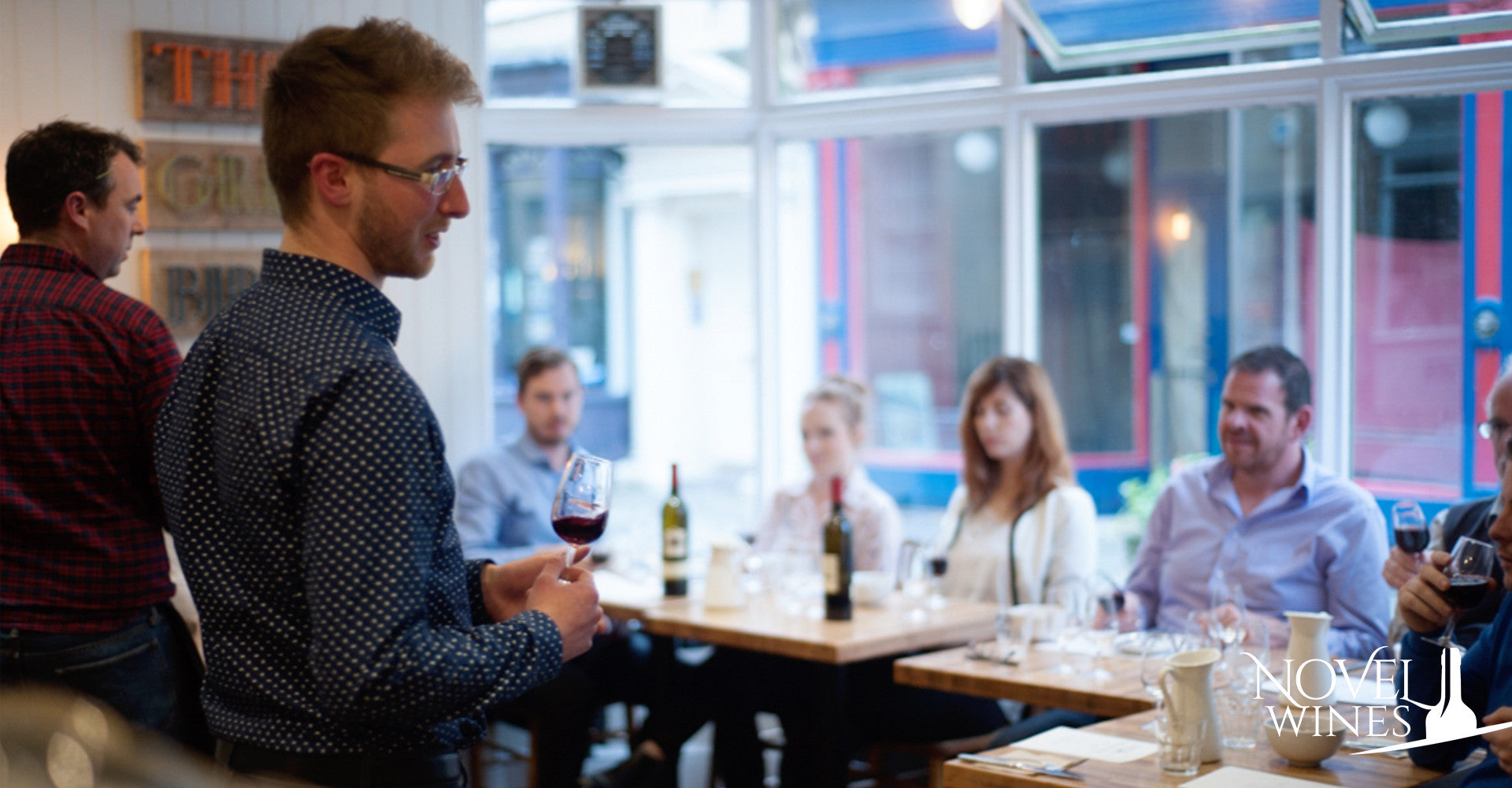 Wine Tasting with Ben Franks from Novel Wines