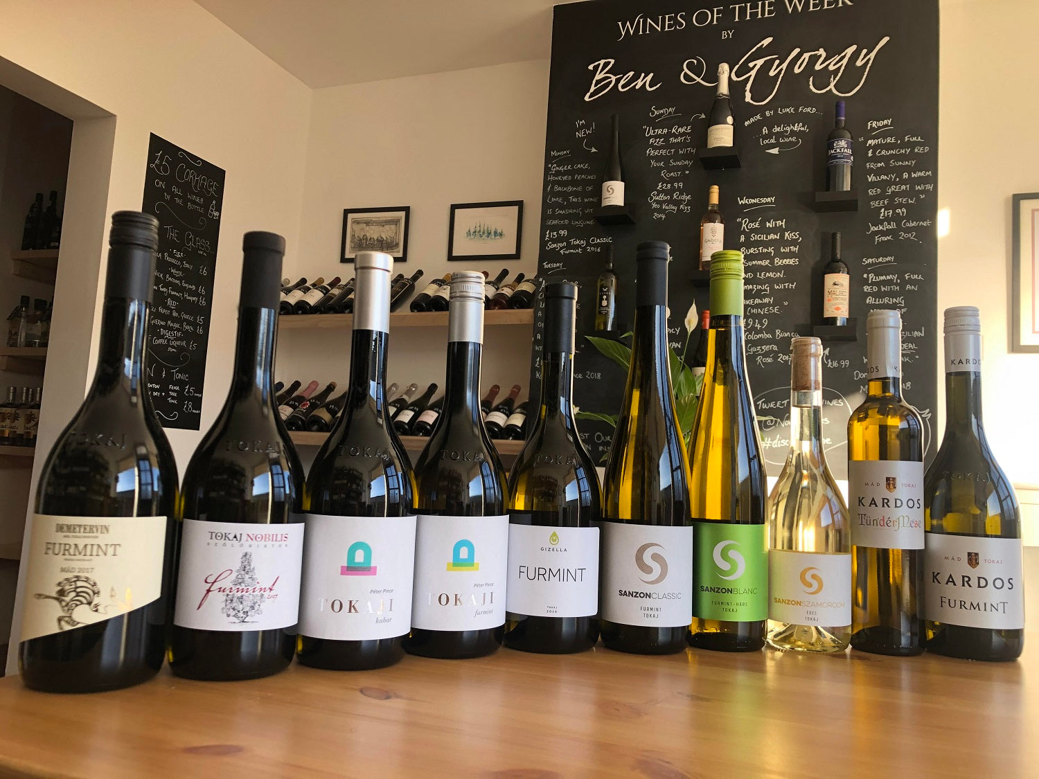 Furmint February selection of wines
