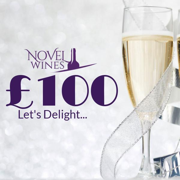£100 gift voucher by Novel Wines