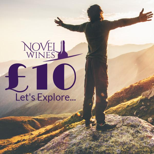 £10 gift voucher by Novel Wines