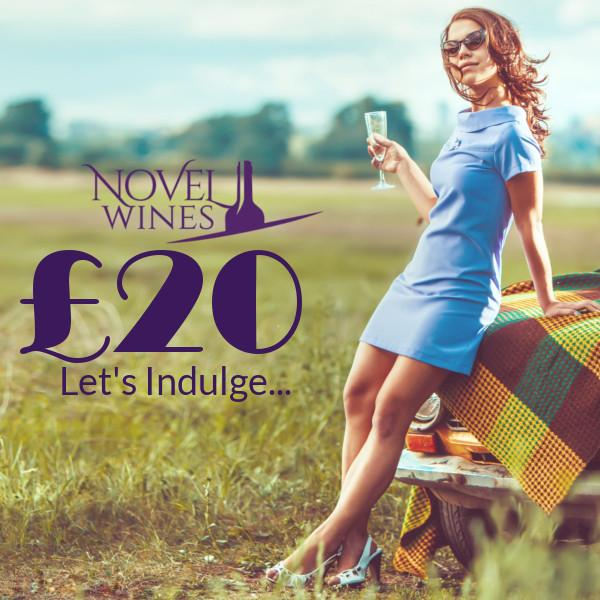 £20 gift voucher by Novel Wines