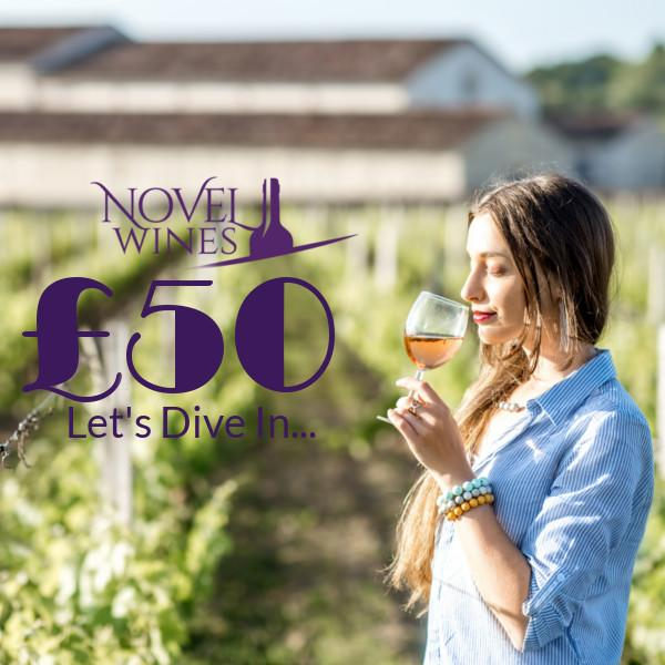 £50 gift voucher by Novel Wines