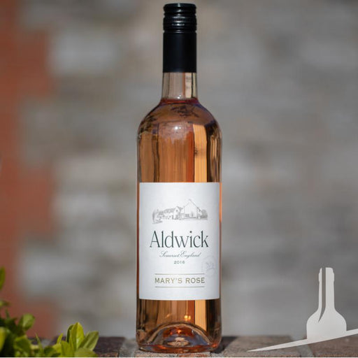 Aldwick Estate Mary's Rosé English wine from Somerset