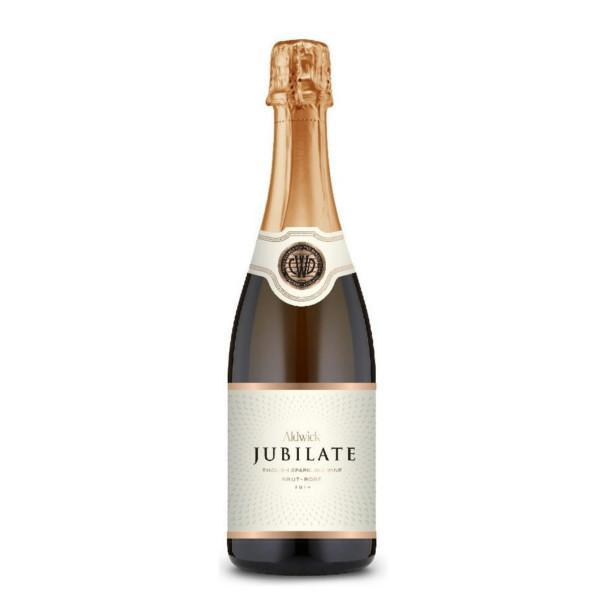 English rose sparkling wine by Aldwick Court Farm and Vineyard; the Jubilate Rose is a pink bubbly made in Somerset from 100% Pinot Noir grapes