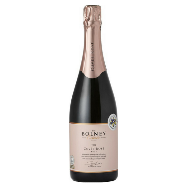 Bolney Estate Cuvée Rosé English sparkling wine from Sussex