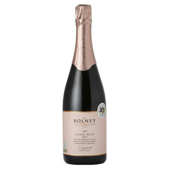 English rose sparkling wine Bolney Estate Rose Cuvee from Sussex