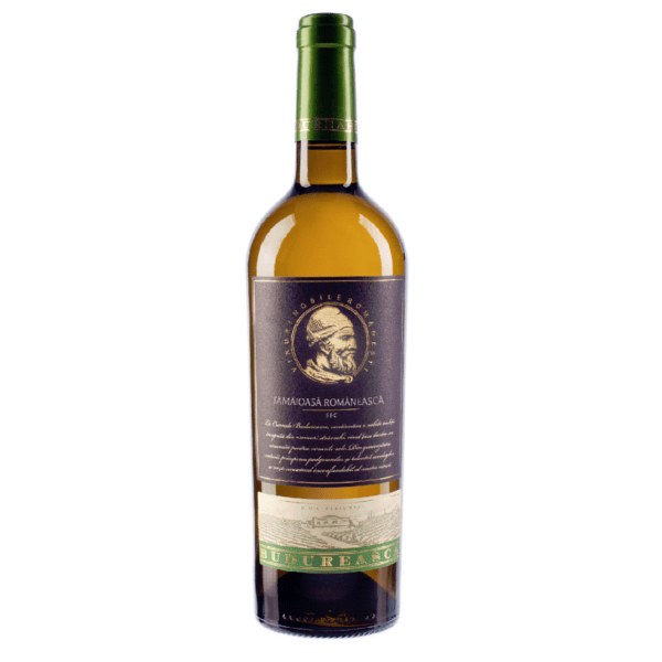 Budureasca Premium Tamaioasa Romaneasca is a Romanian white wine with exotic fruit flavours