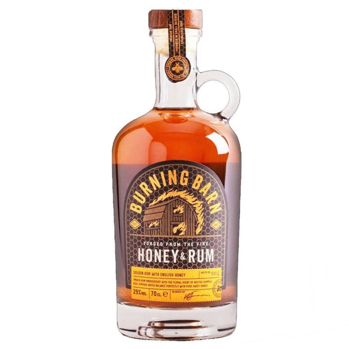 Burning Barn Honey & Rum Liqueur 29.0% abv, England