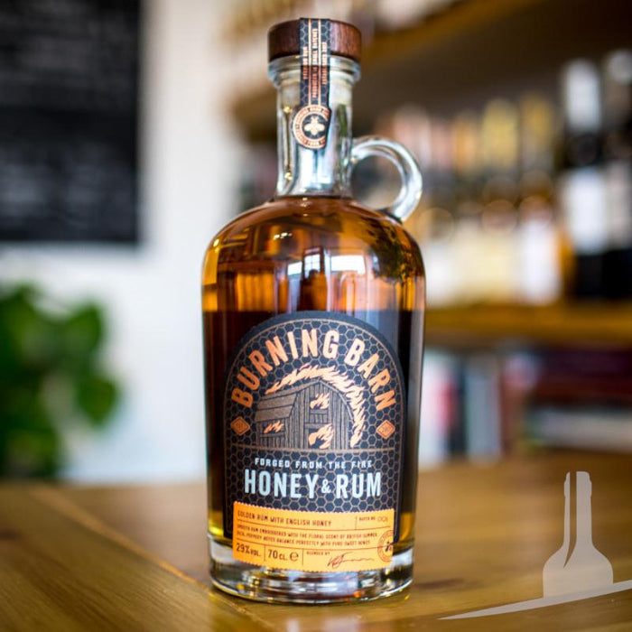 Burning Barn Honey & Rum Liqueur, England