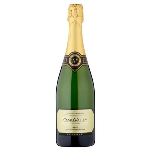 Multi-award winning English sparkling wine Camel Valley Cornwall Brut by Sam Lindo