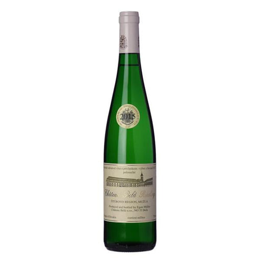 Chateau Bela Riesling by Egon Muller 2015, Fine and Rare Slovakian Wine