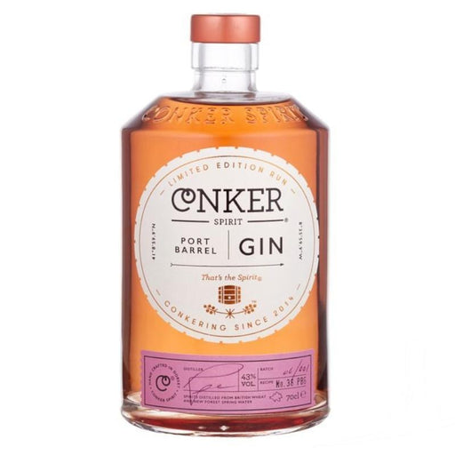 Conker Port Barrel Gin from Dorset