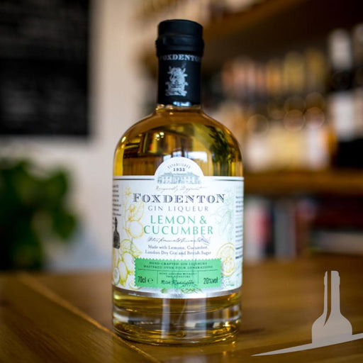 Foxdenton Lemon and Cucumber Gin Liqueur, England