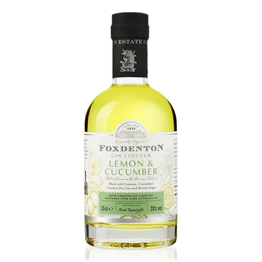 Foxdenton Lemon and Cucumber Gin Liqueur 20.0% abv, England