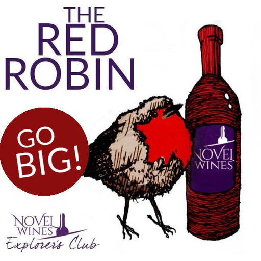 The BIG Red Robin Explorer's Club Wine Subscription Box (12 bottles)