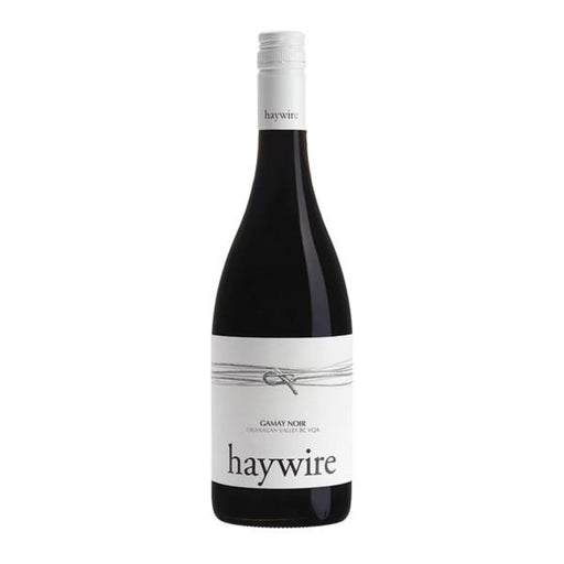 Haywire White Labal Gamay Noir from British Columbia, Canada.