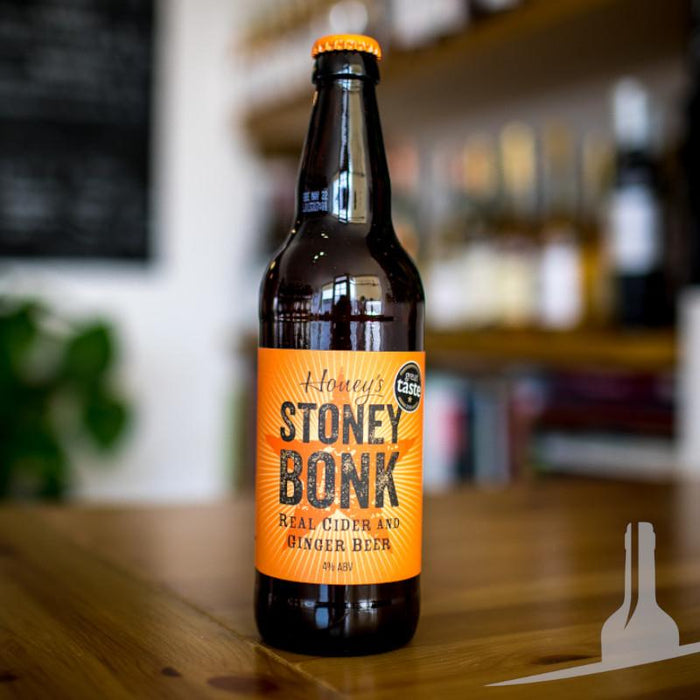 Honey's Stoney Bonk Ginger Beer Cider, England