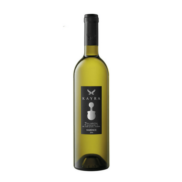 Kayra Narince white wine from Anatolia Turkey. Made from the indigenous grape variety Narince