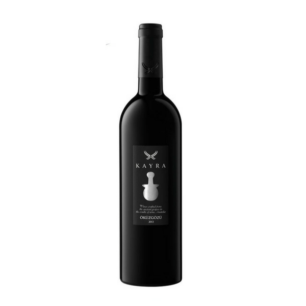 Kayra Okuzgozu Turkish red wine made from indigenous grape varieties grown in Anatolia
