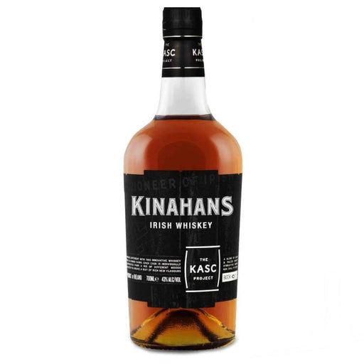 Kinahans Irish Whiskey The Kasc Project hybrid whiskey barrel spirit