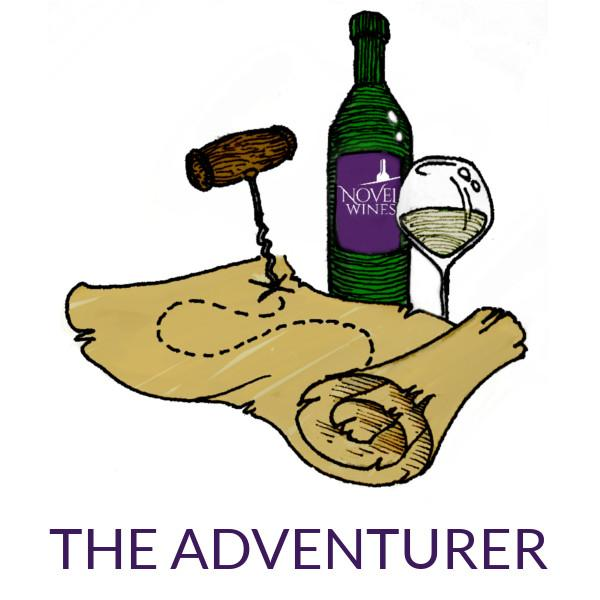 Novel Wines Explorers Club online wine subscription package The Adventurer six bottles of wine