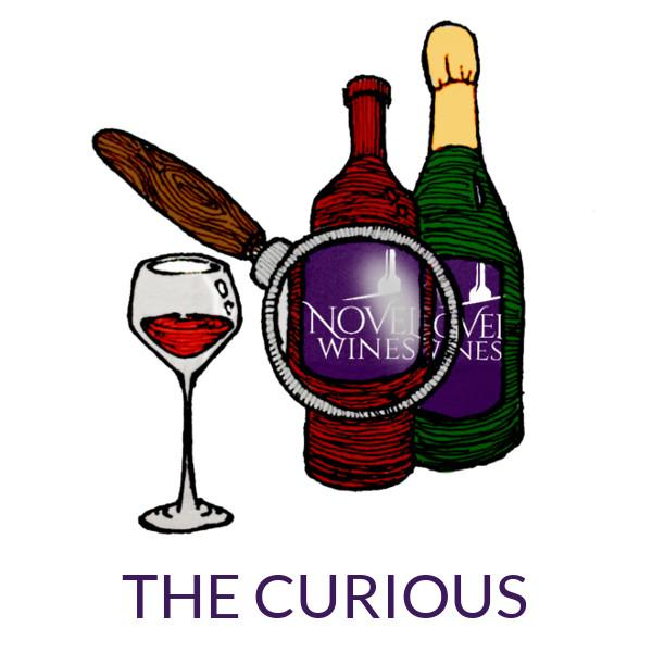 Join our Novel Wines online wine subscription The Explorer's Club - Discovery Curious Package