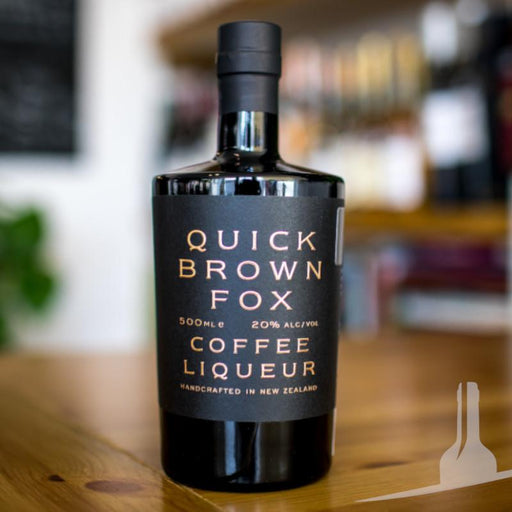 Quick Brown Fox Coffee Liqueur, New Zealand