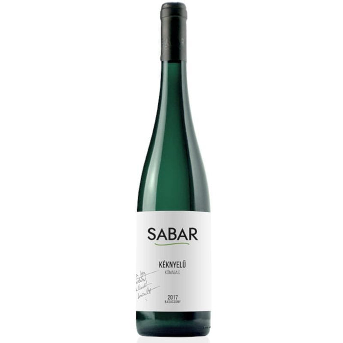 Sabar Keknyelu Kőmagas Lake Balaton White Wine