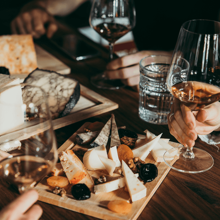 Summer Wine and Cheese Tasting at Fisherton Mill, Salisbury, 14 August 2020
