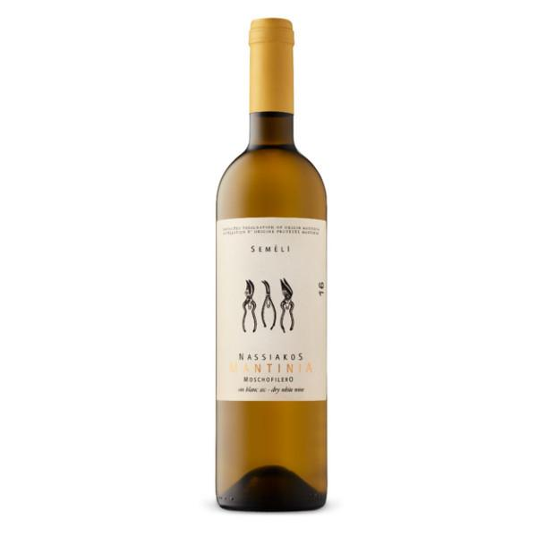 Semeli Mantinia Nassiakos Moschofilero dry white wine from Greece