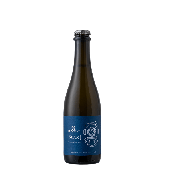 St. Donat 5 Bar Sparkling Brut Nature 2019, Hungary
